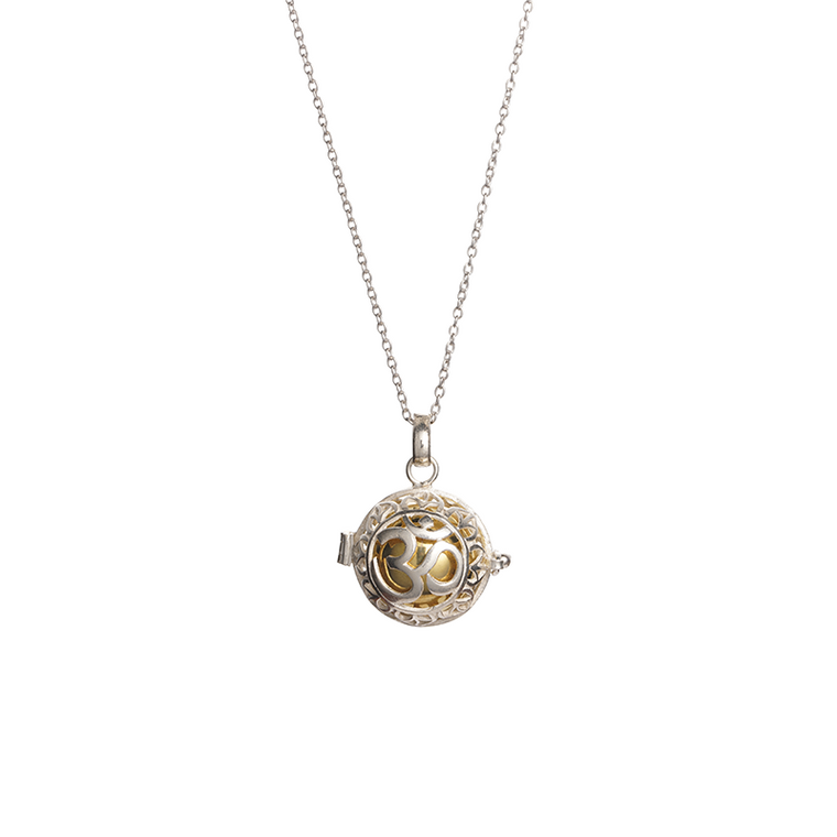 'Om' Harmony Ball Necklace