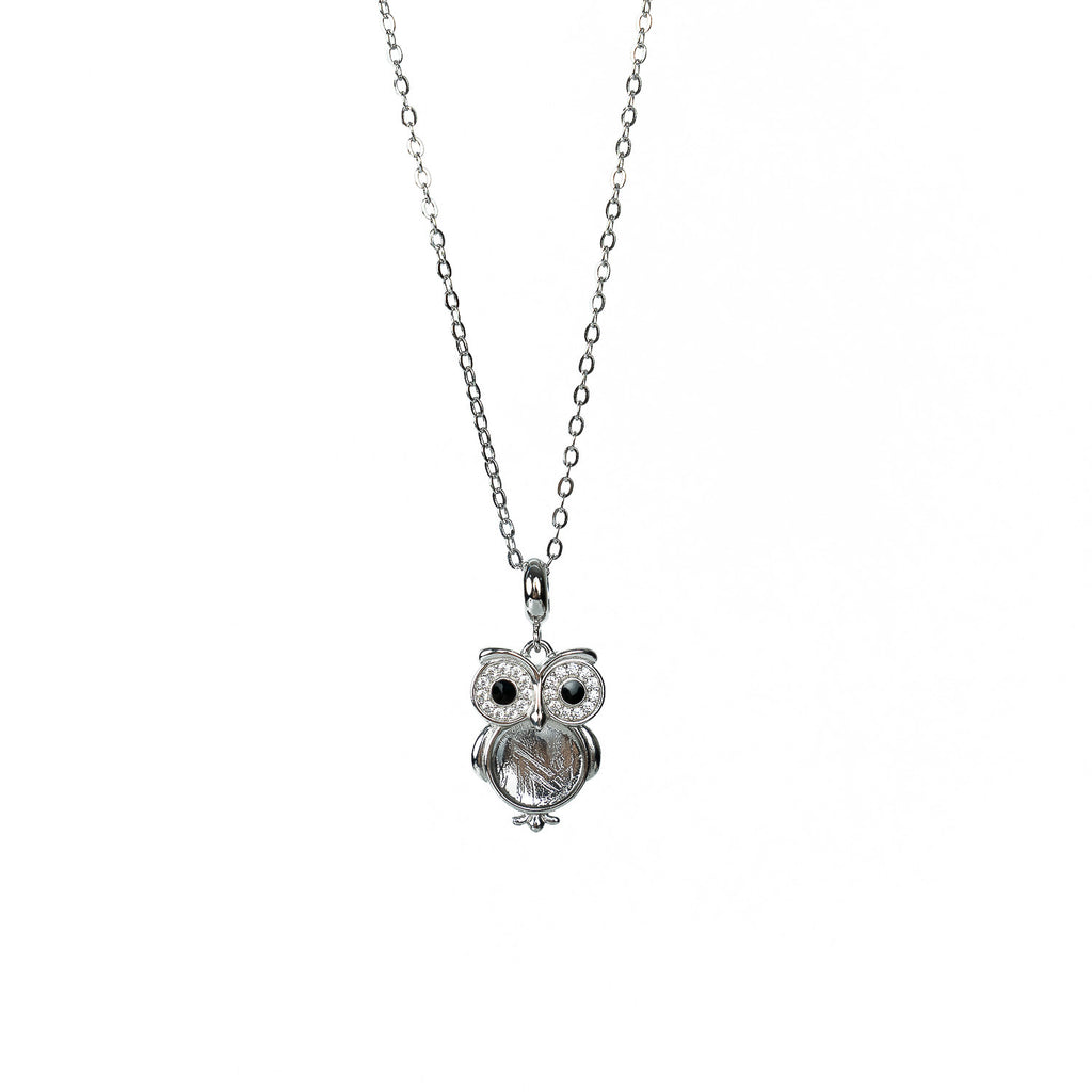 'Owl' Meteorite Necklace