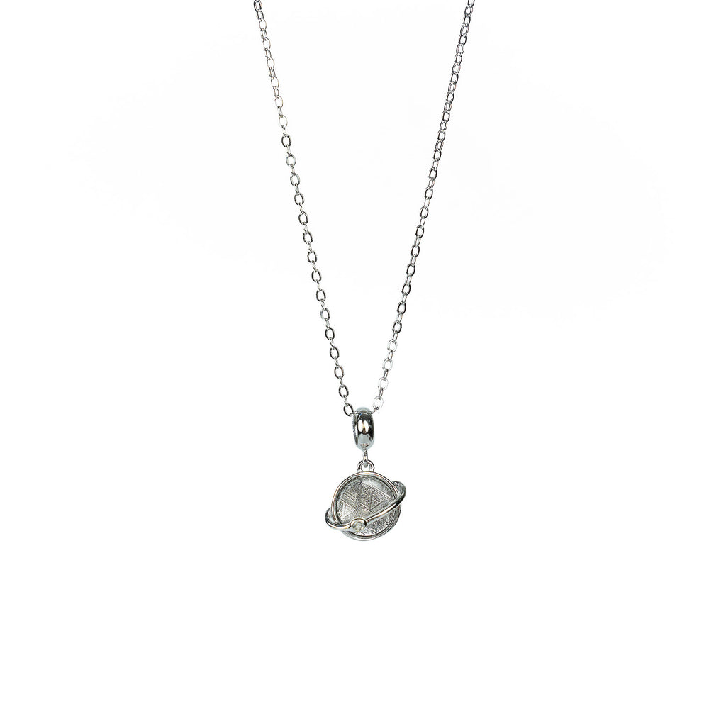 'Saturn' Meteorite Necklace