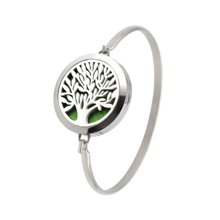 Tree of Life Aroma Diffuser Bangle