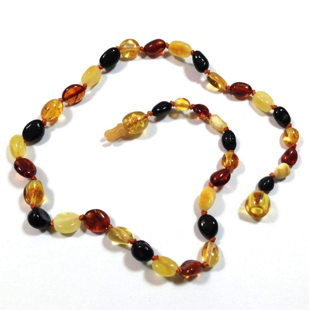 'Zara' Amber Baby Necklace