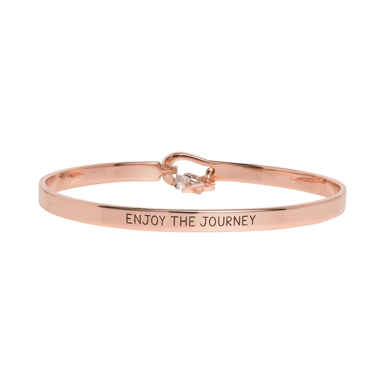 'Enjoy The Journey' Mantra Bangle