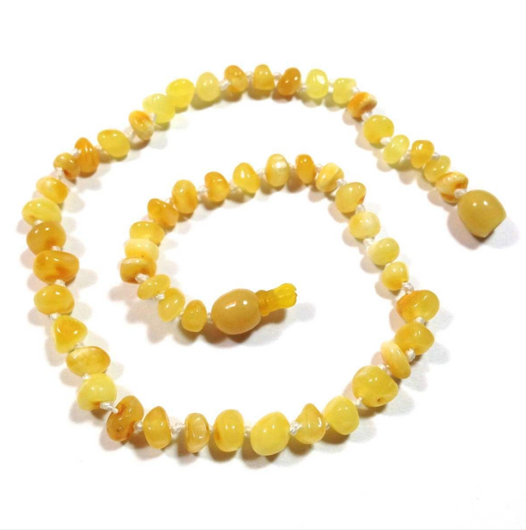 'Hana' Amber Baby Necklace