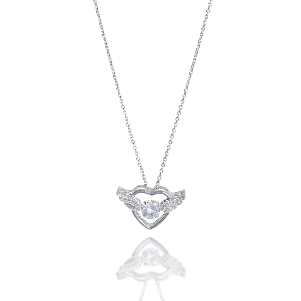Angel Dancing Stone Necklace