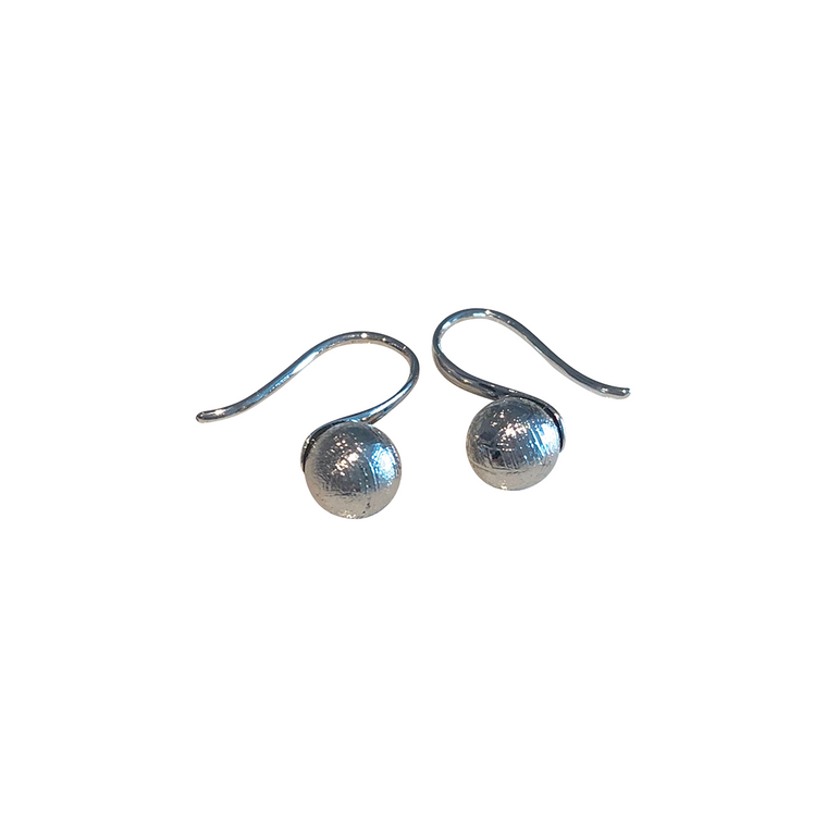 'Spoon' Meteroite Earrings