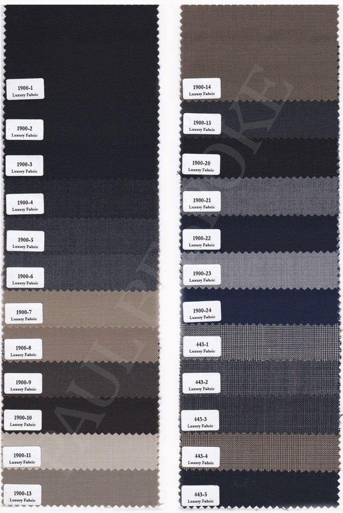 Paul Bespoke CEO Suit Fabrics