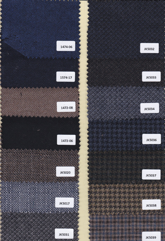 Paul Bespoke Platinum Sports Jacket Fabrics