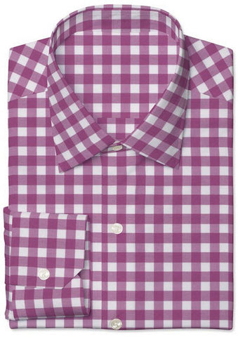 Pink Twill Large Gingham