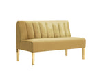 "Kincaid Loveseat 16"" Faux Leather"