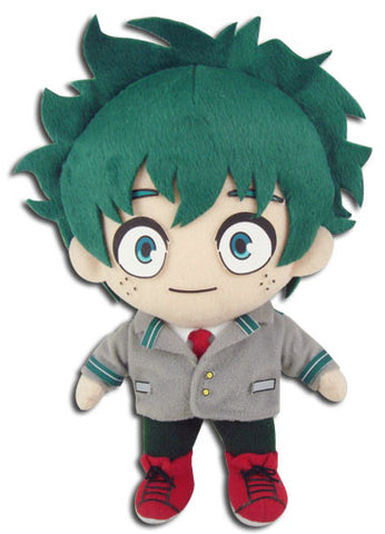 "My Hero Academia Anime - Boku no Hero Academia Midoriya Uniform 8"" Plush 52278"