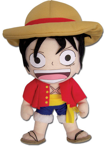 "One Piece Anime - Luffy 8"" Plush 52553"