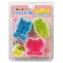 Animal cookie mould 3pc