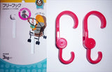 Baby pram 2pc multi purpose hook