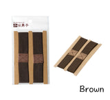 Bento belt lunchbox belt strap brown