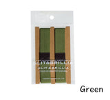 Bento belt lunchbox belt strap green