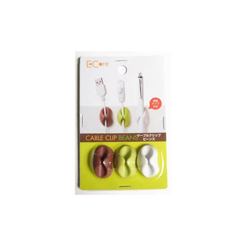 Cable Clip Beans 3pc set