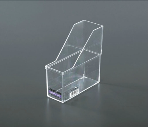 Clear Case Post Card Storage Container (Stackable) _019880