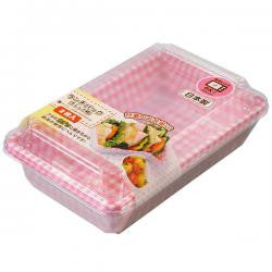 Disposable bento lunch box  PINK L