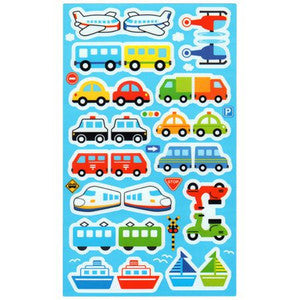Food pick sticker AEROPLANE