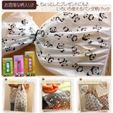 Food bag panda pattern 50pc
