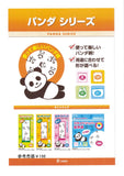 Food bag with zipper panda pattern 20pc