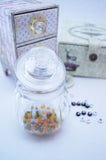 Glass bottle jar 210ml