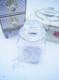 Glass bottle jar 220ml