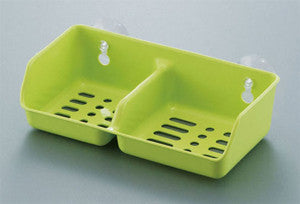 Cleaning utensil holder leaf GREEN 020435