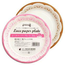 Lovely Lunch Lace paper plate 10pc