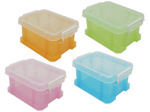 Stationary box with lockable lid M60