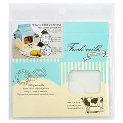 Milk carton cookie gift box