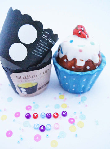 Muffin cup ubran style M BLACK