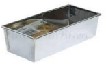 Stainless Steel Rectangle pound cake tray M