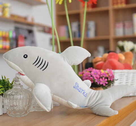 Shark Marshmallow Super Soft Plush 50cm