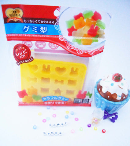 Silicon animal gummy candy mould