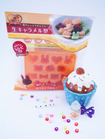 Silicon gummy candy mould CARAMEL
