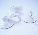 Strong 3pc set Suction Hook White