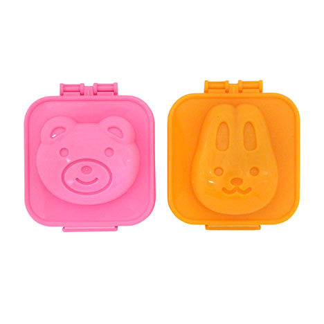Yudetama Rabbit and bear egg mould