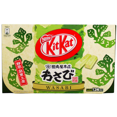 JAPAN Nestle KIT KAT Wasabi Flavour Chocolate 12g x12 pieces