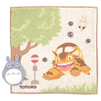 Studio Ghibli Collection- My Neighbour Totoro Catbus Handkerchief/ mini towel