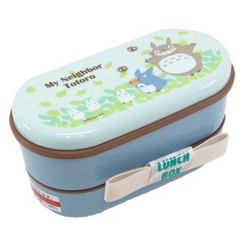 Studio Ghibli Colloction- My Neighbor Totoro 2 layer bento in blue