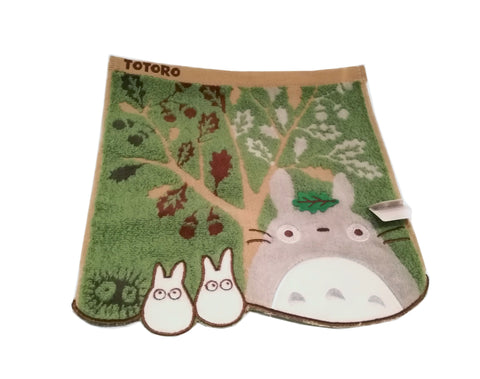 Studio Ghibli Collection- My Neighbour Totoro Tree design Handkerchief/ mini towel