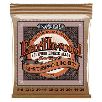 Ernie Ball Acoustic Earthwood Phosphor Bronze 12-String