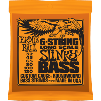 Ernie Ball 6-String Nickel Bass Long Scale