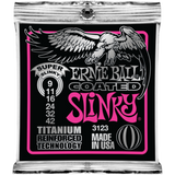 Ernie Ball Slinky Coated Titanium Electric