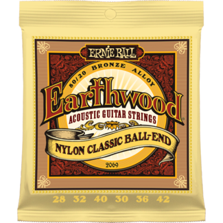 Ernie Ball Earthwood Classic Nylon Ball-End