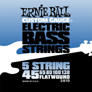 Ernie Ball Flatwound 5-String Bass