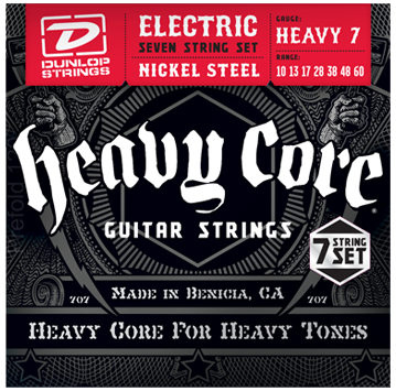 Dunlop Electric Heavy Core 7-String