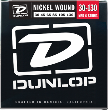 Dunlop Bass Nickel Wound 6-String