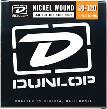 Dunlop Bass Nickel Wound 5-String